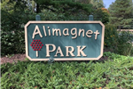 park sign at Alimagnet Park