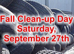 Clean-up Day Sept. 27th